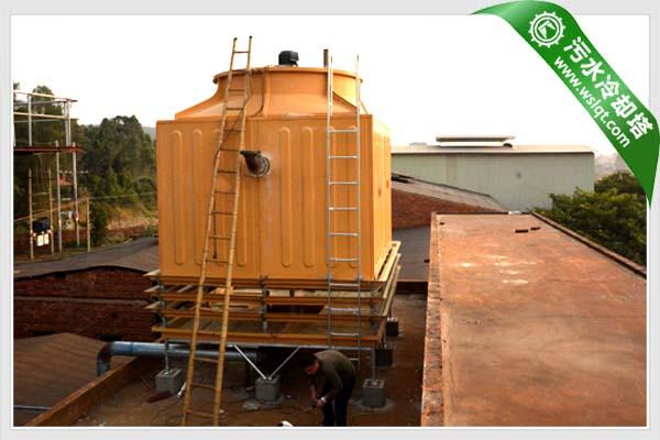 制药业专用300吨污水冷却塔