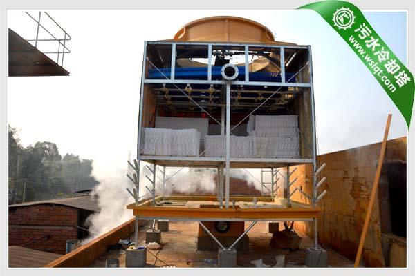 污水冷却塔内部结构设备